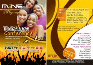 Mine Conference Live in Calabar!!!