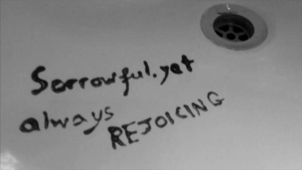 always rejoicing